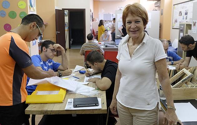 Charo Cantera, presidenta de Ápice / Jesús Spínola