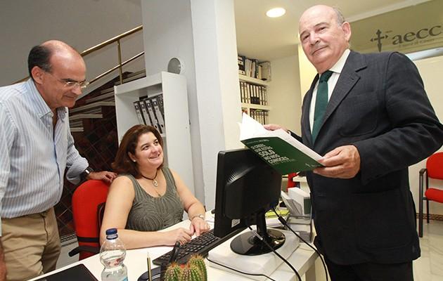 Julio Cuesta, presidente de la Asociación Española contra el Cáncer en Sevilla / Rocío Ruz