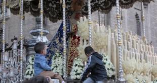 La Virgen de las Angustias es patrona de los donantes desde 2011 / José Galiana
