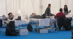 Campaña de donación de sangre en la Universidad Pablo de Olavide