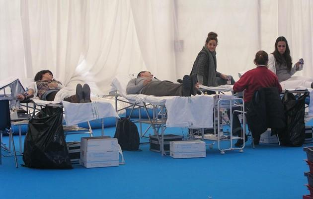 Campaña de donación de sangre en la Universidad Pablo de Olavide / ABC