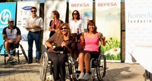 Diana Cantalejo y Susana Rincón se hicieron con el primer premio