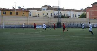 Uno de los partidos del campeonato Fútbol Solidario disputado en anteriores ediciones / L.M.