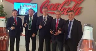 Betis y Sevilla, en un acto de Coca Cola
