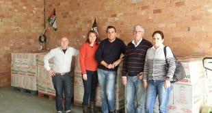Integrantes de la asociación Amigos del Pueblo Saharaui de Dos Hermanas / ABC