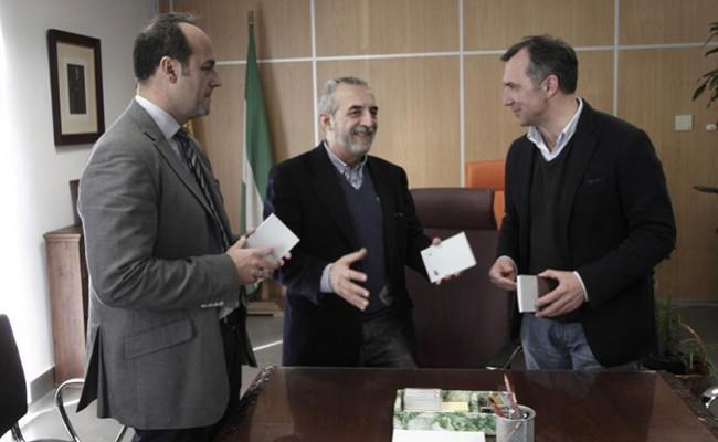 Juan Manuel Flores, Emilio Herrera y Francisco Pérez. FOTO: JUAN FLORES