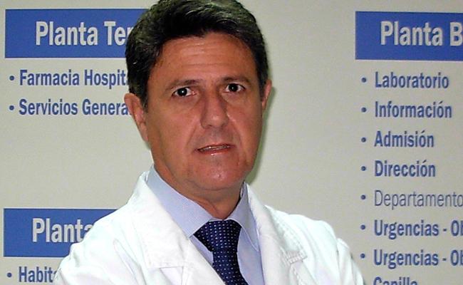 Doctor Abrante Jiménez, jefe de servicio de Otorrino