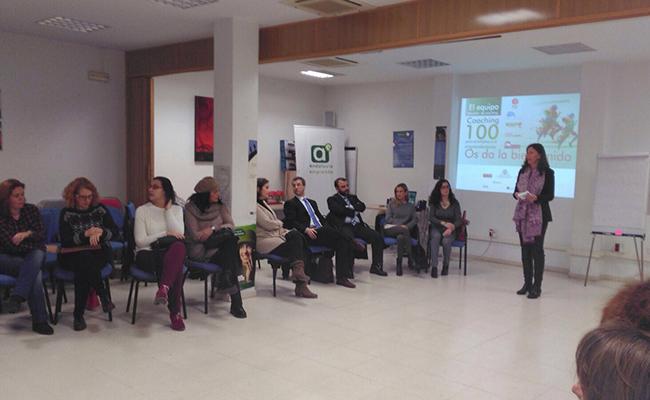 Jornada del Mararón Coaching 100 para el empleo celebrada en Córdoba