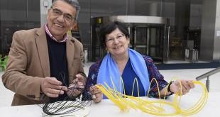 José Manuel de Ben y María Melgar, de 3D impact / La Caixa