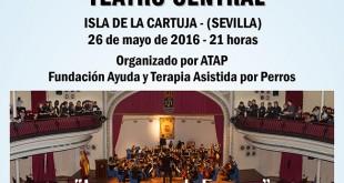 Concierto en el Teatro Central a beneficio de Ayuda y Terapia Asistida por Perros