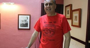 Juan Garrido es el «speaker» de numerosas reuniones de atletismo - A.F.