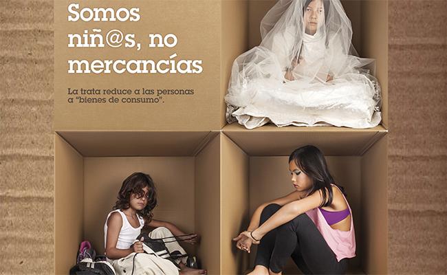 Tierra de Hombres exhibe una exposición fotográfica sobre la Trata Infantil en el Palacio Yanduri