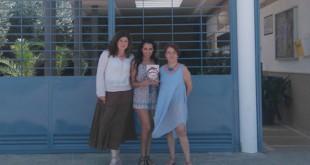 Myriam Millán, en el centro de la imagen, acompañada por responsables de Anidi / ABC