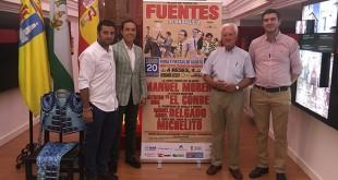 Fuentes de Andalucía acoge un festejo taurino a beneficio de Cáritas