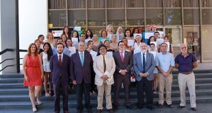 Clausura de la segunda edición de los cursos de formación sociosanitaria del Colegio de Médicos de Sevilla y la Fundación Doña María / Fundomar