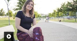 Marta Calera, voluntaria de la Fundación Alalá