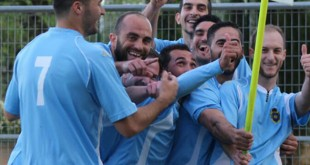 Jugadores del Écija CF en una imagen del club