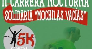 Carrera Nocturna Mochilas Vacías en Las Cabezas
