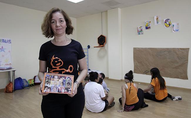 Bella Durán, presidenta de la Asociación Tal Como Eres. FOTO: JUAN FLORES