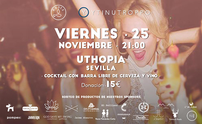 Fiesta solidaria en Uthopia