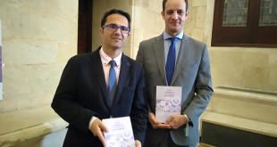 El presidente de FEDER, Juan Carrión, y el director del Silken Al-Andalus, Alberto Blanca.