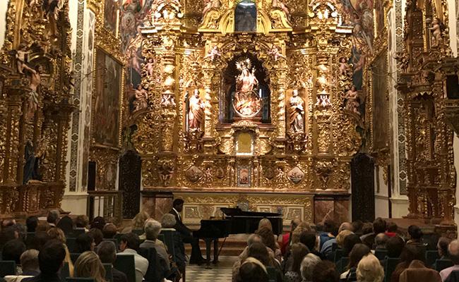 Carlos Urraca ofreció un recital de piano / Manuel Vaca