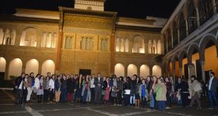 La entrega de premios tuvo lugar en el Salón del Almirante del Real Alcázar  / Ayuntamiento de Sevilla
