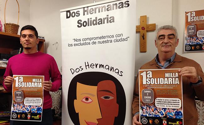 Presentación de la carrera I Milla Solidaria / L.M.