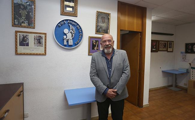 José Manuel Garcia, presidente de SOS Angel de la Guardia. FOTO: VANESSA GOMEZ.
