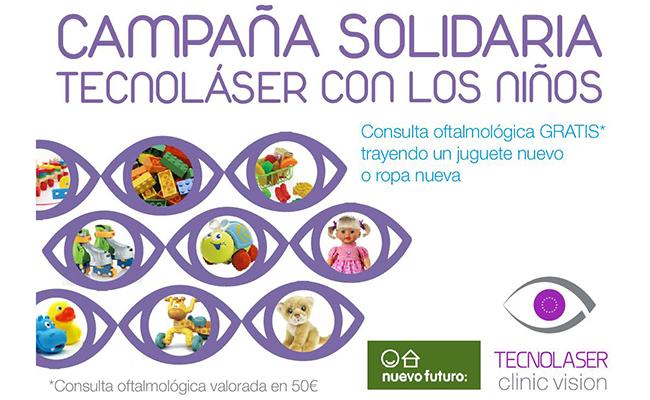 tecnolser clinic vision atender gratis a quienes donen juguetes para nios de nuevo futuro