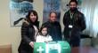 Donan un kit de emergencias a la menor de Dos Hermanas con hipertensión pulmonar