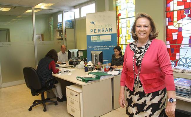 La Fundación Persán ha creado un comité asesor, encabezado por su presidenta, Concha Yoldi Foto: Rocío Ruz