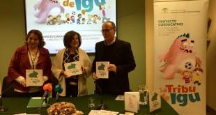La consejera de Igualdad y Políticas Sociales, María José Sánchez Rubio, en la presentación de la campaña / Junta de Andalucía