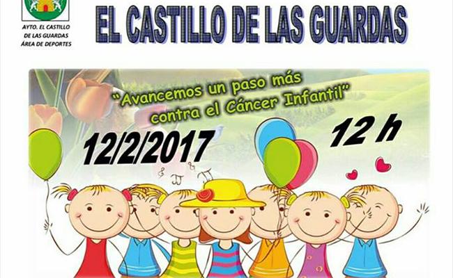 II Marcha Solidaria en el Castillo de las Guardas