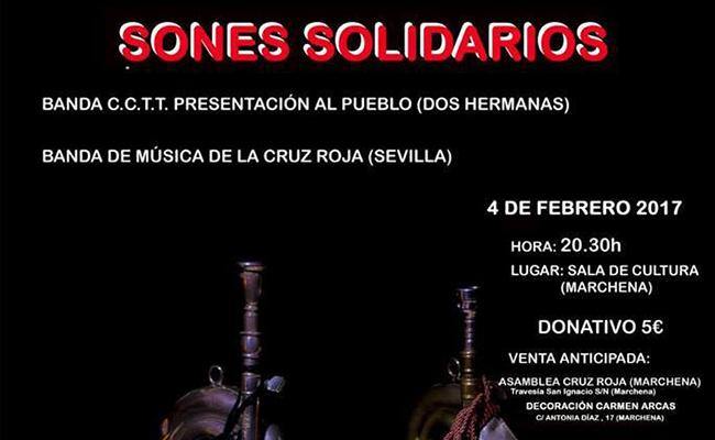 Sones Solidarios a beneficio de la Cruz Roja