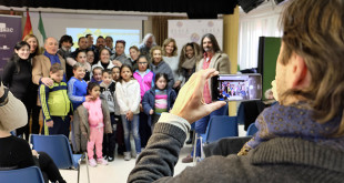 Niños del Polígono Sur se convertirán en escritores, compositores y coreógrafos de su propia obra de teatro/ Foto: J.M. Serrano