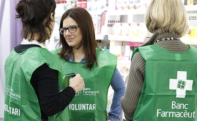 Durante cuatro horas los voluntarios animarán a los ciudadanos a participar en la iniciativa / Foto: Banco Farmacéutico
