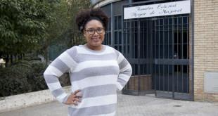 Ydelsa Serrano, voluntaria del Hogar de Nazaret