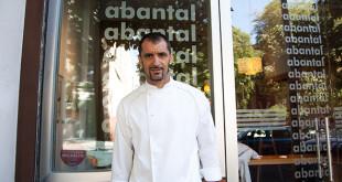Julio Fernández Quintero, chef de Abantal / Rafael Sánchez