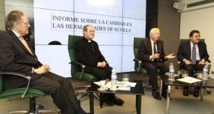 Ignacio Valduérteles, Monseñor Asenjo, José Luis García Palacios, Joaquín Sainz de la Maza / R. DOBLADO