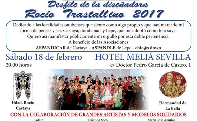 Desfile de moda flamenca de la diseñadora Rocío Trastallino
