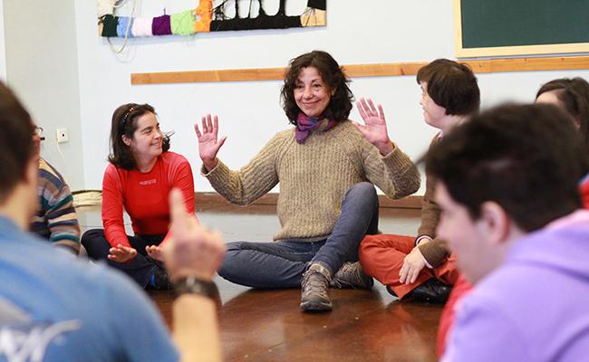 Esmeralda Valderrama, directora de Danza Mobile. FOTOS: Rocío Ruz