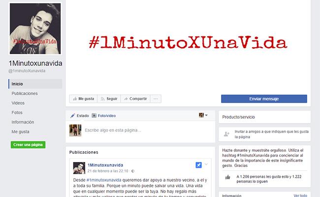 facebook-1minutoxunavida