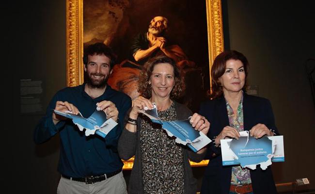 Visita a la exposición Velázquez Murillo con el Proyecto Es+Fácil . Fotos: Pepe Ortega.
