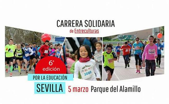 VI edición de la Carrera Solidaria de Entreculturas «Corre por una causa, corre por la educación»