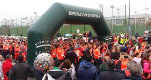 Más de mil personas han participado en la Carrera -Marcha por la Igualdad / ABC
