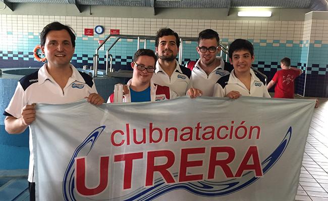 Los utreranos han participado en el Campeonato de España de Natación para personas con discapacidad intelectual