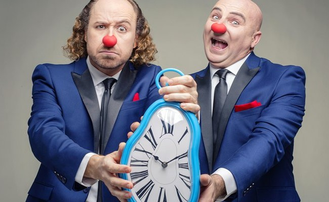 La Sala Cero acoge este jueves la comedia Justo a tiempo de Síndrome Clown