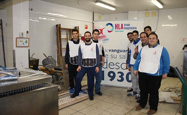 Clínica Santa Isabel ayuda a los comedores sociales de la provincia ...