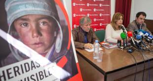SUSANA DÍAZ, ACUDE A LA PRESENTACIÓN DEL INFORME HERIDAS INVISIBLES DE LA ORGANIZACIÓN SAVE THE CHILDREN.  FOTO/E.BRIONES
